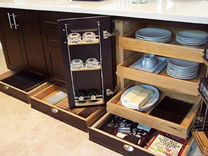 Pull-Out Drawer Cabinets